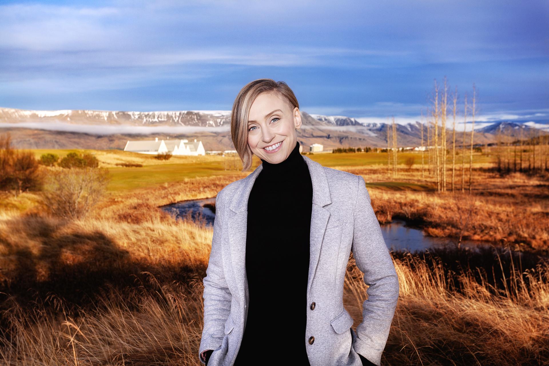 Snjólaug Ólafsdóttir umhverfisverkfræðingur og sjálfbærni markþjálfi